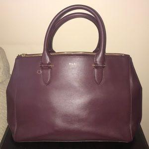 Authentic Lauren By Ralph Lauren Satchel Handbag